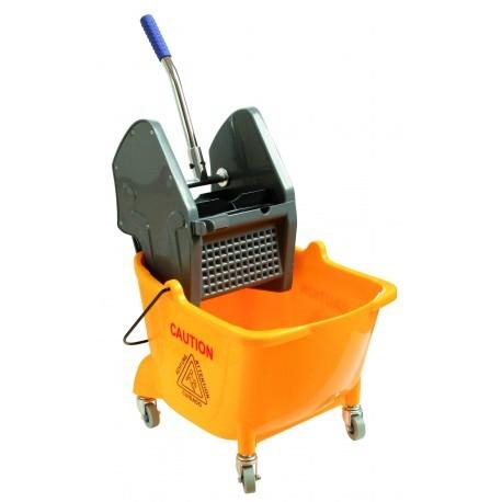 wózek do mycia podłóg z jednym wiadrem 24l