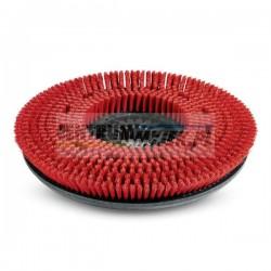 Szczotka tarczowa czerwona/średnia