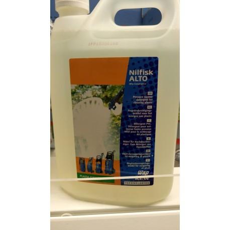 PLASTIC CLEANER 4 x 2,5 L detergent do plastiku